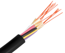 Fiber Optic Cable, Single Mode, 9/125, Outdoor Military Tactical Breakout, Polyurethane