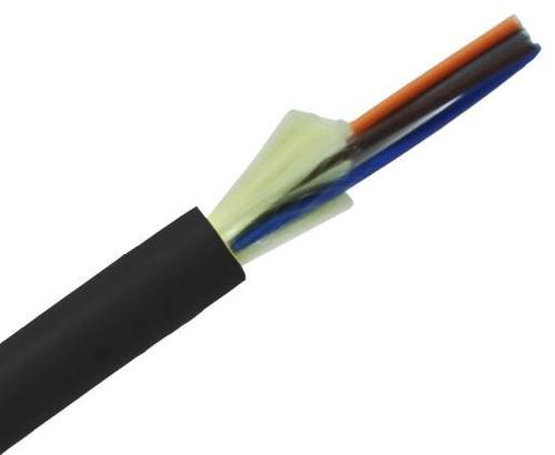 Tight Buffer Distribution Fiber Optic Cable, Single-Mode, OS2, Corning Fiber, Indoor/Outdoor, Riser OFNR - 500FT