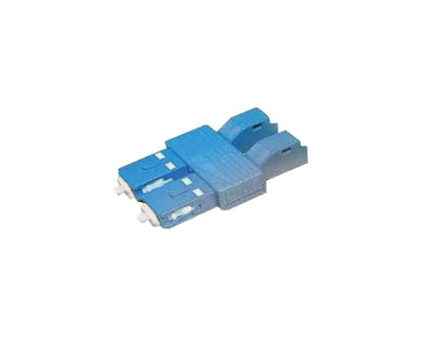 Fiber Tester Adapter, SC Male to LC Female, Duplex, Single Mode 9/125