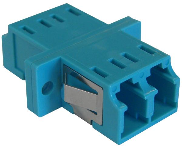 LC Duplex 10 Gig Multimode Fiber Adapter/Coupler