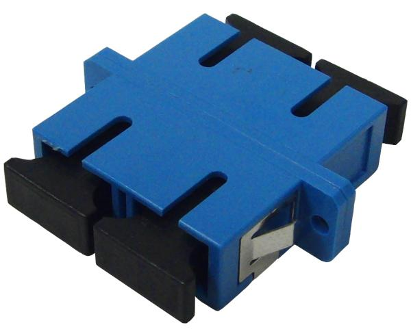 SC/UPC Duplex Single Mode Fiber Adapter/Coupler