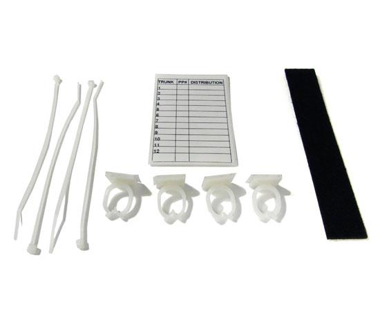 Wall Mount Fiber Enclosure, Up to 12 Splices, 1 Slack-N-Roll & 1 Splice Tray Included