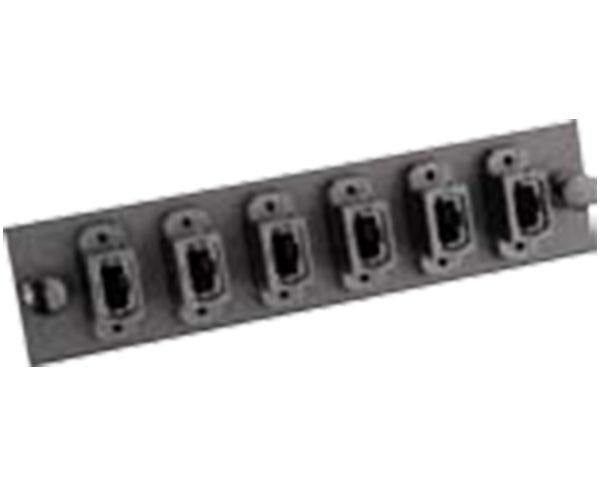 Fiber Adapter Panel, Single Mode, MTP®, 6 Port