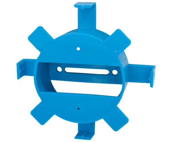 "Cable Management Round Spool 1.5"" Bend Radius Blue"
