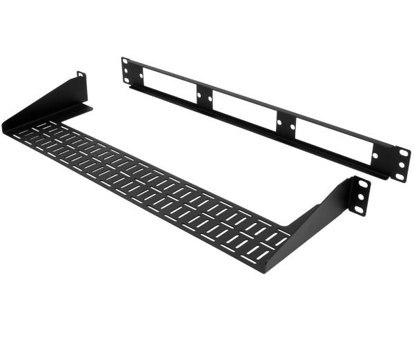 Rack Mount LGX Fiber Patch Panel Housing with Rear Cable Support, 1U