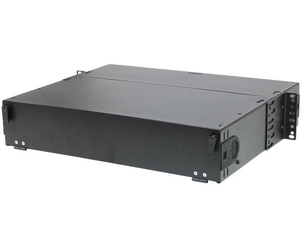 Rack Mount Fiber Distribution Patch Panel Enclosure, Slide-Out, FDU, 2U