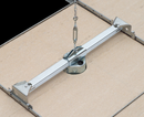 Fan/Fixture Electrical Junction Box with Adjustable Steel Bracket for Suspended Ceilings
