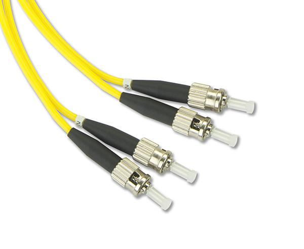 FC/UPC-FC/APC, Singlemode, Duplex, Fiber Optic Patch Cable