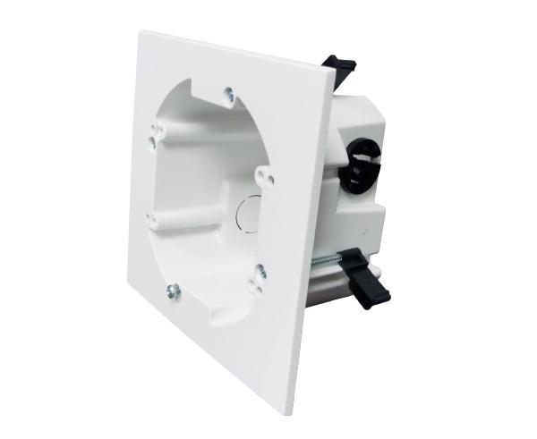 Two (Dual) Gang Round Drywall Mounting Bracket - Right