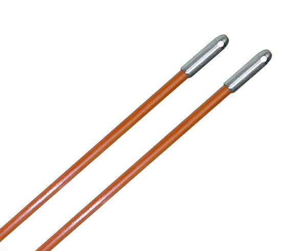 "Fiberfish II Rod, 6' long x 3/16"" Diameter Bullnose / Bullnose, Orange"