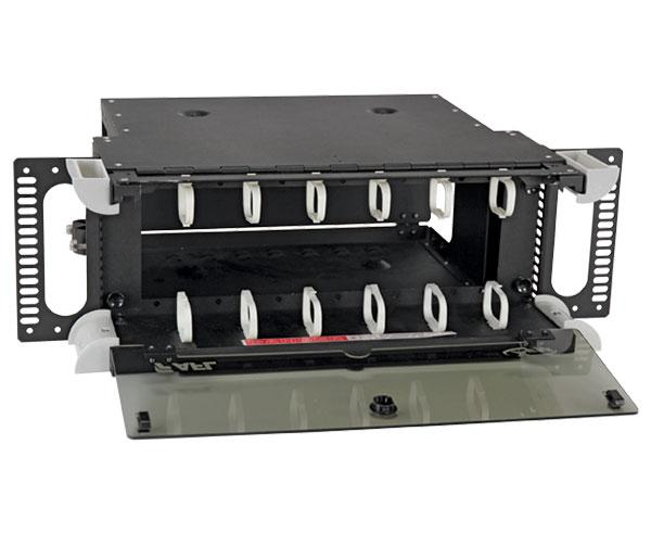 Fiber Patch Panel, Fixed, Xpress Fiber Management, Up to 288 Ports, 4U