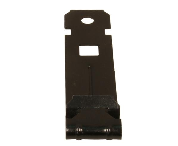 "Vertical Overhang 180º with 1/4"" Hole - 100 Pack"