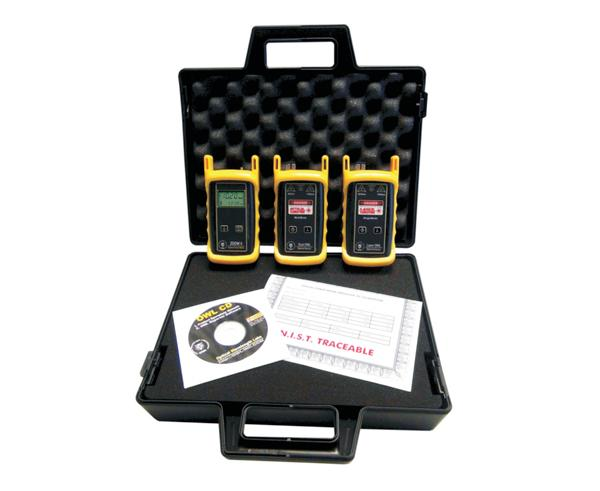 ZOOM 2 Dual Laser Multimode/Single Mode Fiber Test Kit