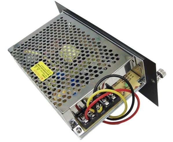 Secondary Power Supply for Media Converter Chassis
