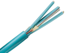 Fiber Optic Cable, Multimode, 50/125 10 Gig OM4, Corning Fiber, Indoor Micro-Distribution, Riser