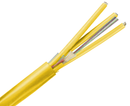 Fiber Optic Cable, Single Mode, 9/125, Corning Fiber, Indoor Micro-Distribution, Plenum