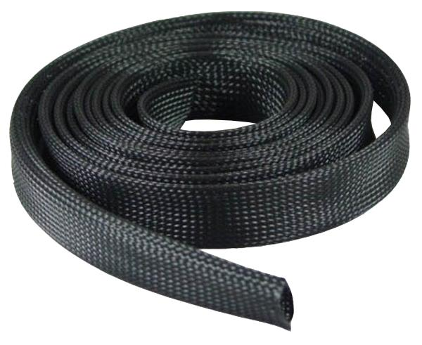 "Expandable Braided Sleeve Cable Sock 1/2"", 1"" & 2"""