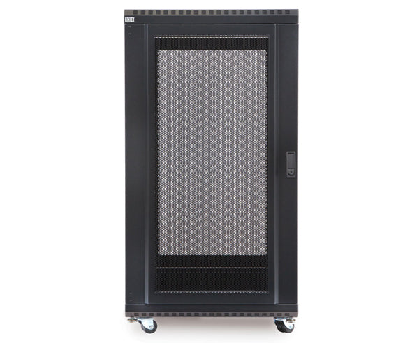 "Network Rack, Server Enclosure, Convex/Convex Doors - 22U, 27U, 37U & 42U - 24"" & 36"" Depth 3 of 6"