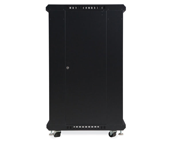 "Network Rack, Server Enclosure, Convex/Convex Doors - 22U, 27U, 37U & 42U - 24"" & 36"" Depth 4 of 6"
