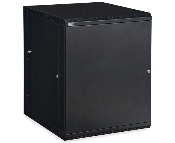 Network Rack, Swing-Out Wall Mount Enclosure, Solid Door - 15U