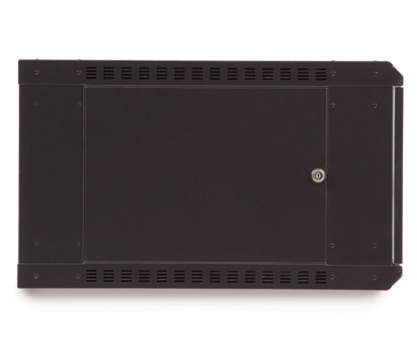 Network Rack, Fixed Wall Mount Enclosure, Vented Door 6U 3 of 6