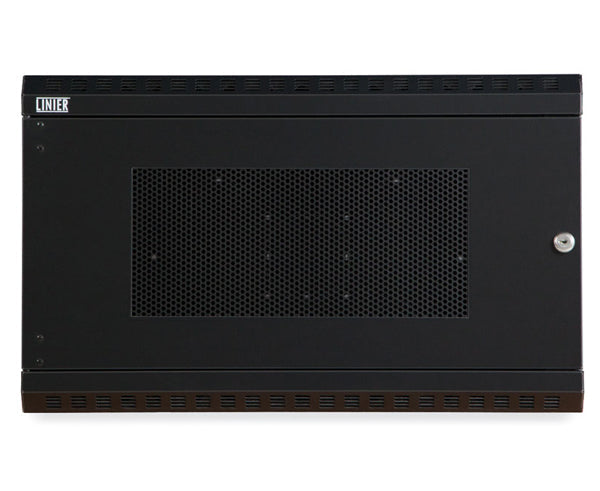 Network Rack, Fixed Wall Mount Enclosure, Vented Door 6U 4 of 6