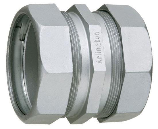 "EMT Compression Couplings UL/CSA Listed Concrete Tight - 1/2"" - 4"""