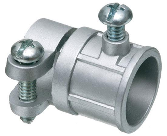 Combination Couplings EMT (1/2™-3/4™) to Flex (3/8™-3/4™), Zinc die-cast