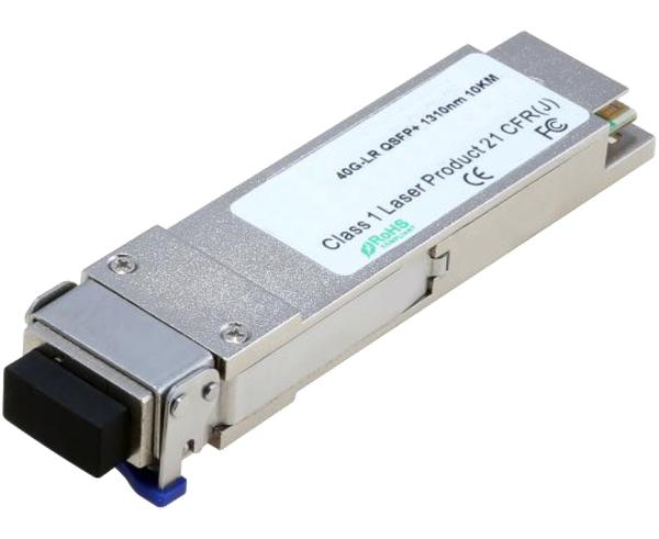 QSFP+ PSM4 Transceiver Modules, 40Gb/s, MPO/MTP Fiber Optical Connector, Cisco Compatible, up to 10km