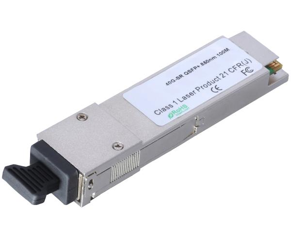 QSFP+ PSM4 Transceiver Modules, 40Gb/s, MPO/MTP Fiber Optical Connector, Cisco Compatible, up to 2km