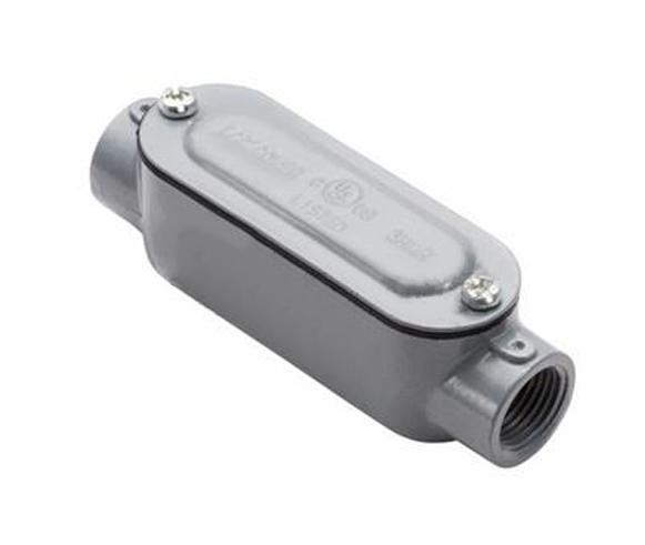 Type C Rigid Conduit Body with Cover, 3/4""