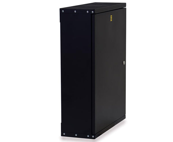 Rack, Fixed Wall Mount Enclosure, 3U V-Rack Server Cabinet 3 of 5