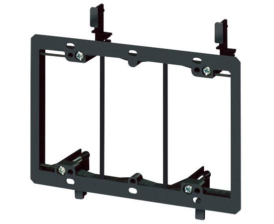 Non-Metal Mud-Ring Drywall Bracket - 3 Gang