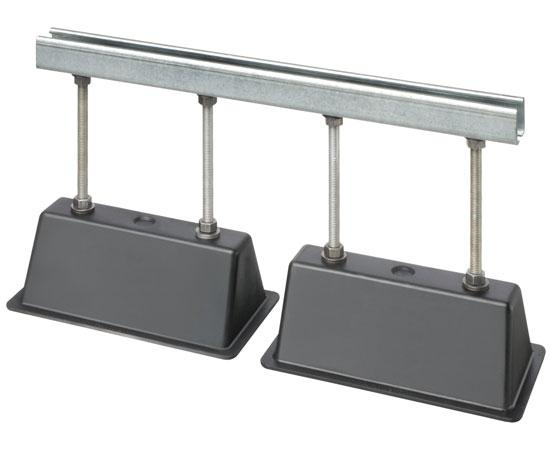 "Roof Topper™ Conduit and Raceway Rooftop Supports - 21"" w x 12"" h"