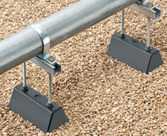 "Roof Topper™ Conduit and Raceway Rooftop Supports - 9"" w x 12"" h"