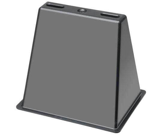 "Roof Topper™ Conduit and Raceway Rooftop Supports - Base only 9""w x 10-3/8""h"