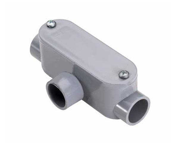 Type T Access Fitting, Schedule 40 PVC Conduit, 1""