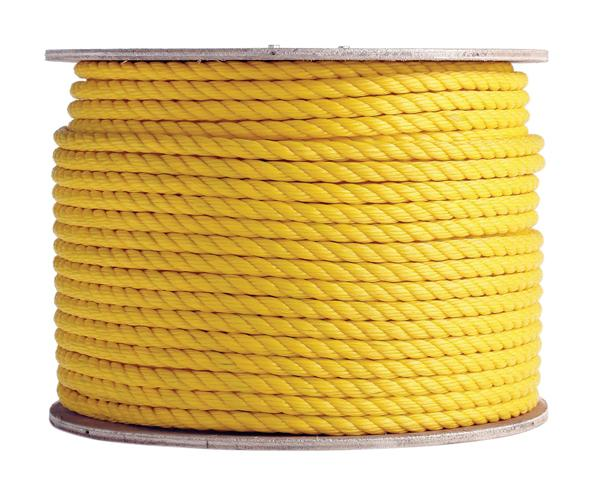 Twisted 3 Strand Polypropylene Cable Pulling Rope