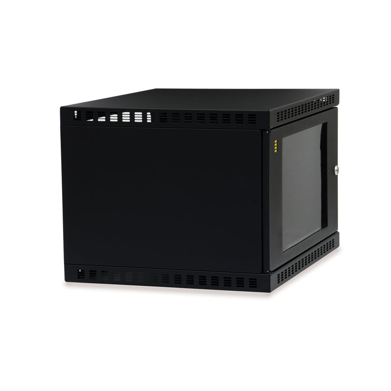 Shallow Depth Wall Mount Enclosure 6U_ 02