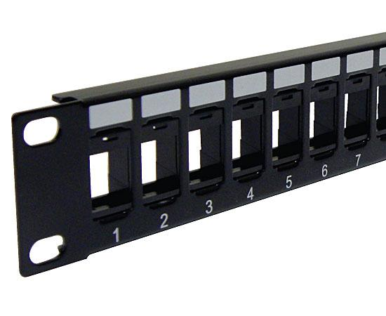 Blank Patch Panel, High Density Patch Panel 16 Port 1U, 24 Port 1U, 48 Port 2U - 2 of 3