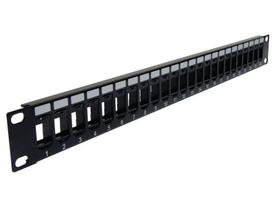 Blank Patch Panel, High Density Patch Panel 16 Port 1U, 24 Port 1U, 48 Port 2U - 3 of 3