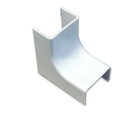 Raceway Duct Inside Corner Fitting - White