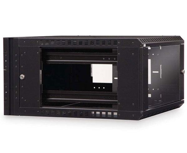 Network Rack, Swing-Out Wall Mount Enclosure, 6U 2 of 8