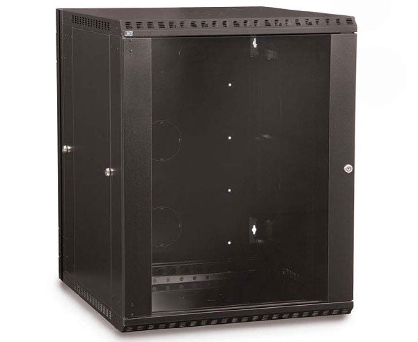 Network Rack, Swing-Out Wall Mount Enclosure, 15U