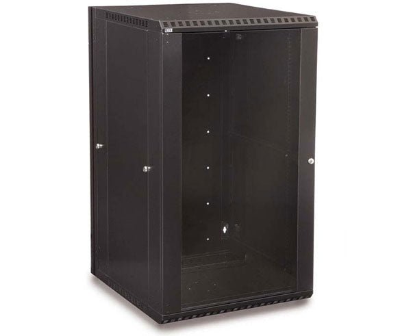 Network Rack, Swing-Out Wall Mount Enclosure, 22U