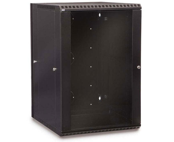 Network Rack, Swing-Out Wall Mount Enclosure, 18U