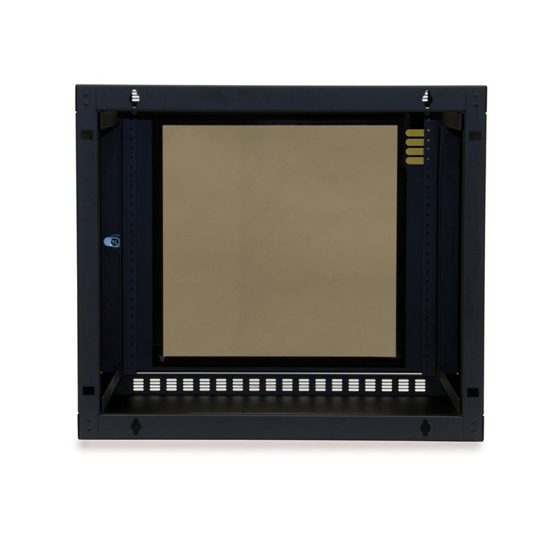 Shallow Depth Wall Mount Enclosure 9U_ 03