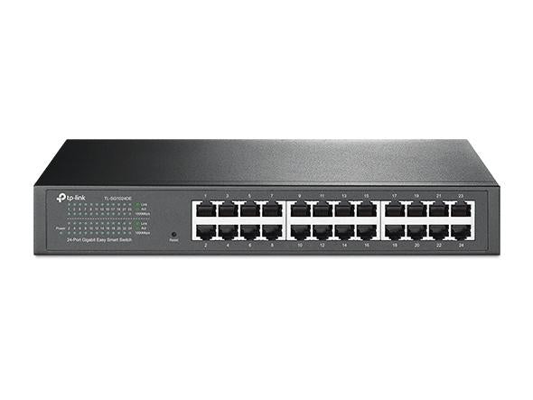 24-Port Gigabit Easy Smart Switch