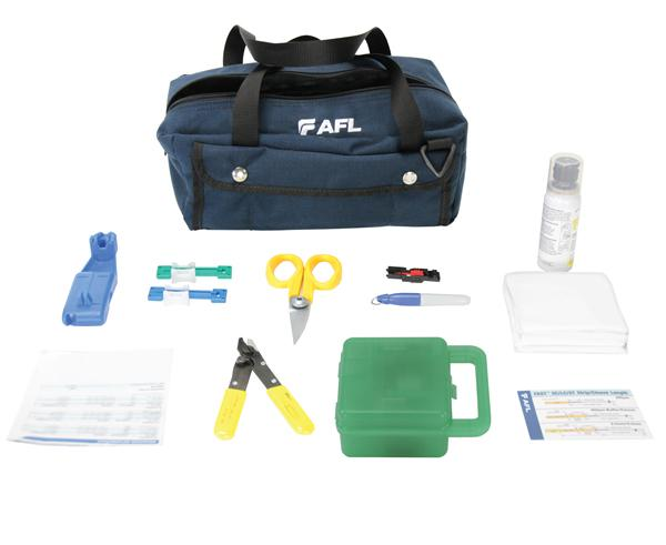 AFL FAST Connector Universal Tool Kit, High Preceision CT-30A Cleaver Included