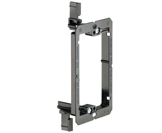 Metal Mud-Ring Drywall Bracket - Single Gang